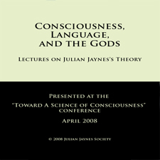 Consciousness, Language, and the Gods Audio CD