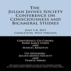 The Julian Jaynes Society Conference on Consciousness and Bicameral Studies Audio CD