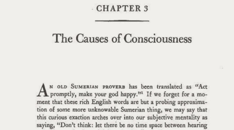 The Causes of Consciousness