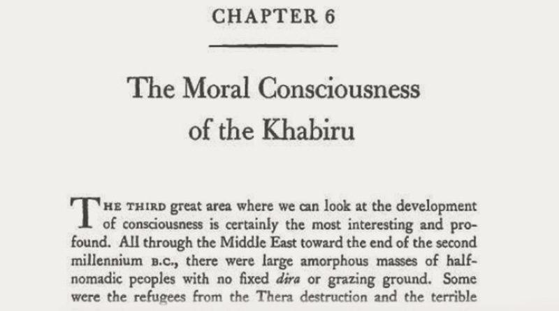 The Moral Consciousness of the Khabiru