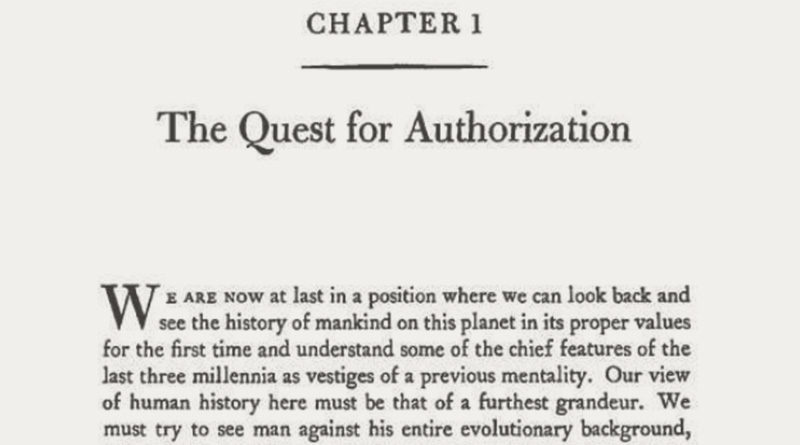 The Quest for Authorization