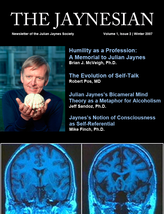 The Jaynesian Volume 1 Issue 2