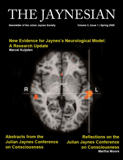 The Jaynesian Volume 3 Issue 1