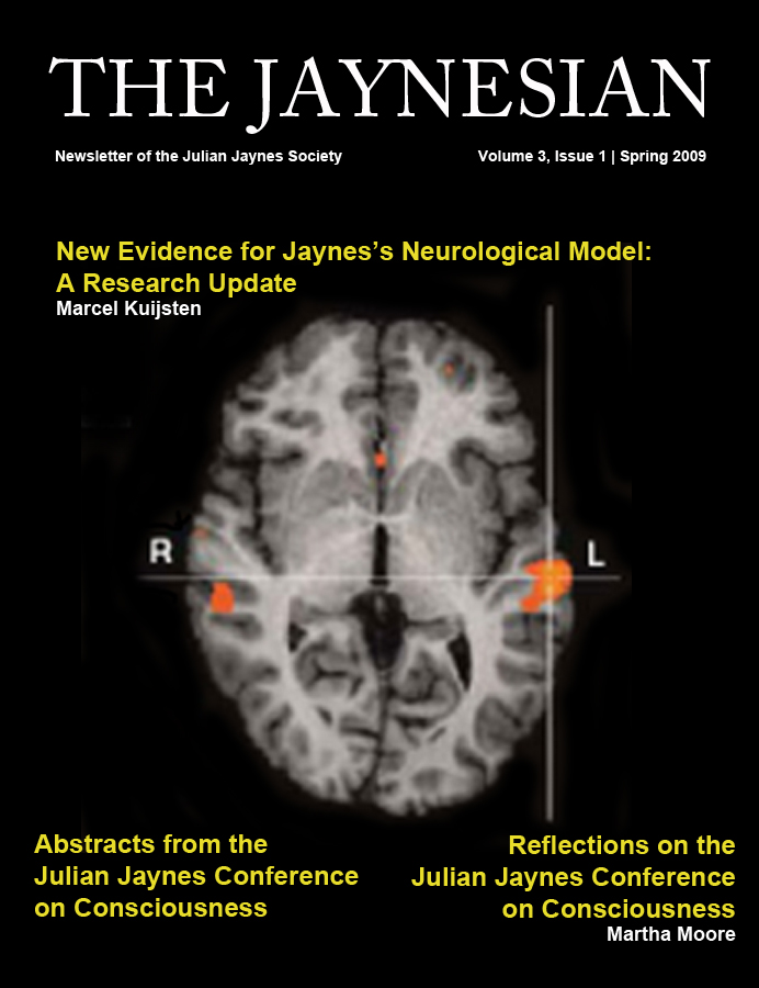 The Jaynesian Volume 3 Issue 1