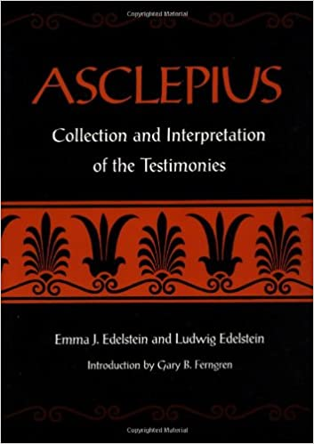 Asclepius: A Collection and Interpretation of the Testimonies