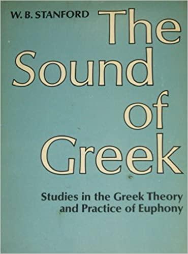 The Sound of Greek
