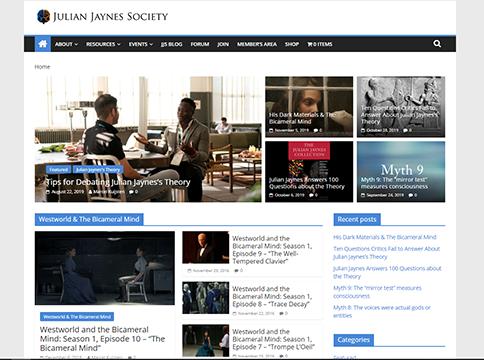 Julian Jaynes Society website