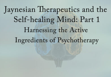 Jaynesian Therapeutics and the Self-Healing Mind