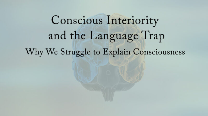 Conscious Interiority and the Language Trap