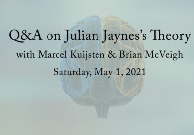 Q&A on Julian Jaynes's Theory